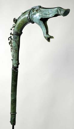 Carnyx de Tintignac. Cliché B. Armbruster