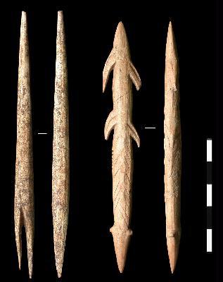 Pointes de projectile en bois de renne du Magdalénien supérieur